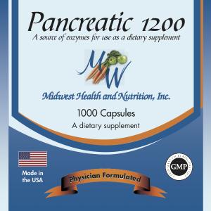 Pancreatic 1200 capsules 1000