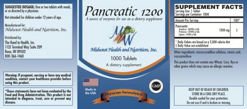 RtH Pancreatic 1200-1000