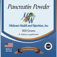 Pancreatin Powder Bulk 500g 4x