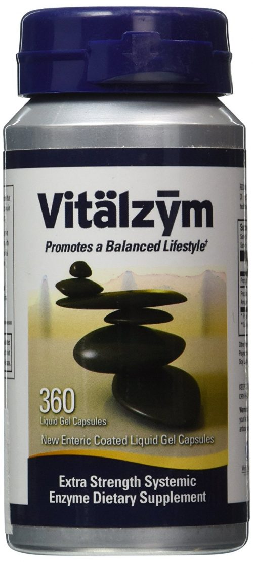 Vitalzym 360 Enteric Coated gel capsule
